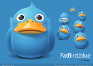 Fatbird Blue