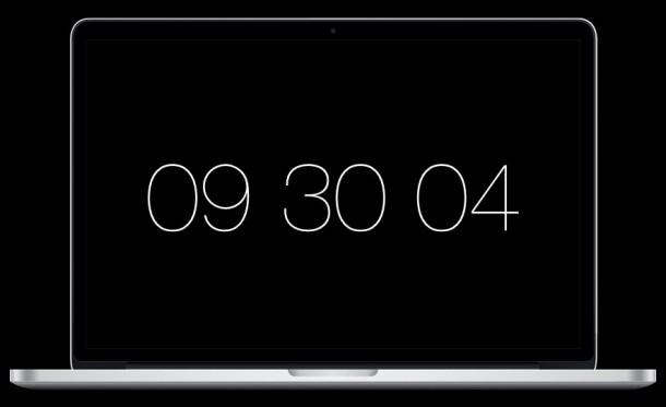 Padbury Clock — A Screen Saver for OS X