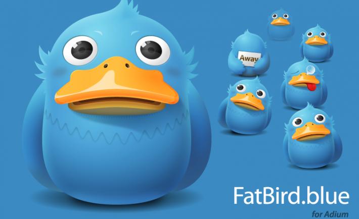 Fatbird Blue