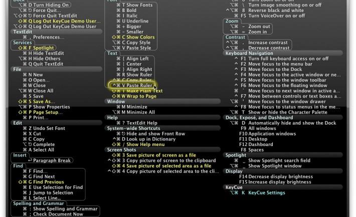 KeyCue sur reactif.net