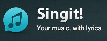 Singit!Your musicwith lyrics