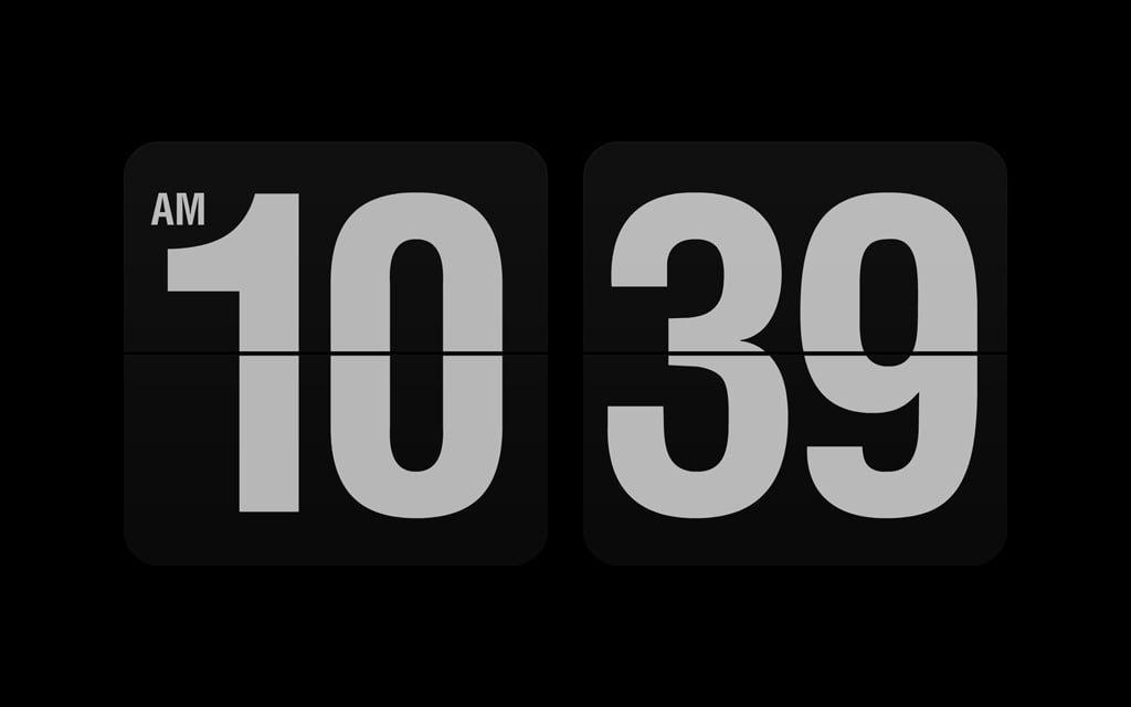 3 conomiseurs d 39 cran qui affichent l 39 heure avec classe for Ecran photo mac