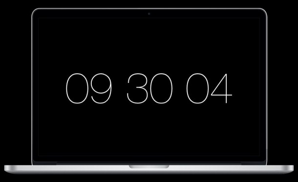 Padbury Clock — A Screen Saver for OS X